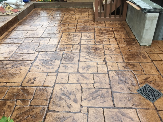 Stamped Concrete Patios In Baltimore County Maryland