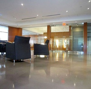 Office Building Floors In Maryland By Pinks Concrete Design