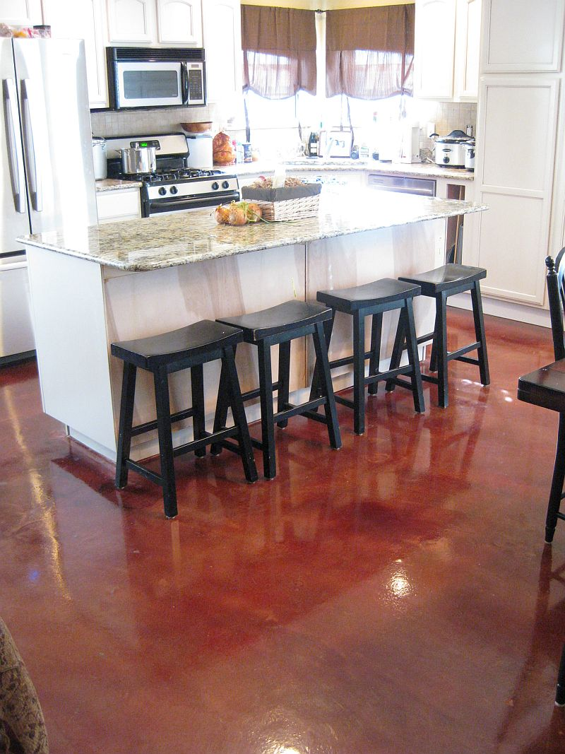 Polished Concrete Kitchen Floor 17 Best Images About House On Pinterest House Plans Stained