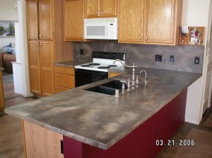 countertop concrete resurfacing