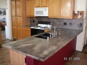 Countertop Concrete Resurfacing