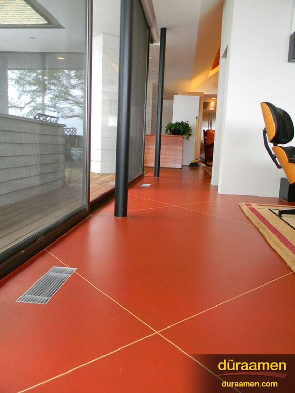 Modern Concrete Floor Washington DC