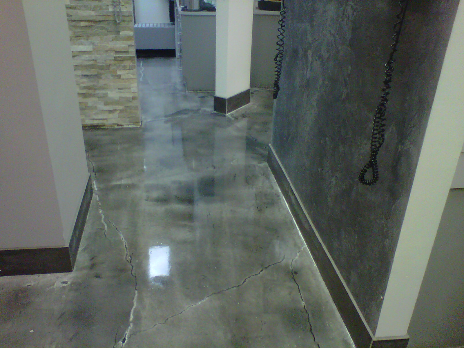 Polished Concrete Floors Ellicott City MD Part - Epoxy floor coating over asbestos tile