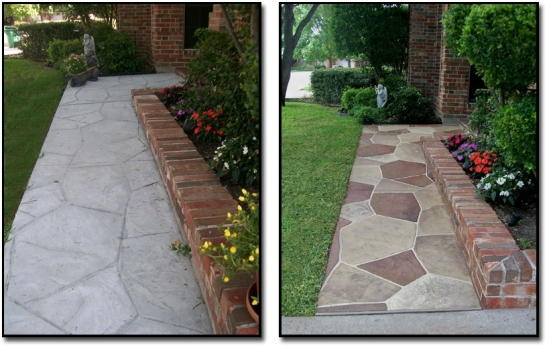 Stamped Concrete Pool Decks, Patios, Driveways