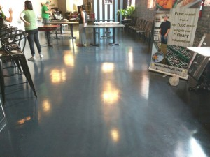 Grey Metallic Epoxy Washington DC