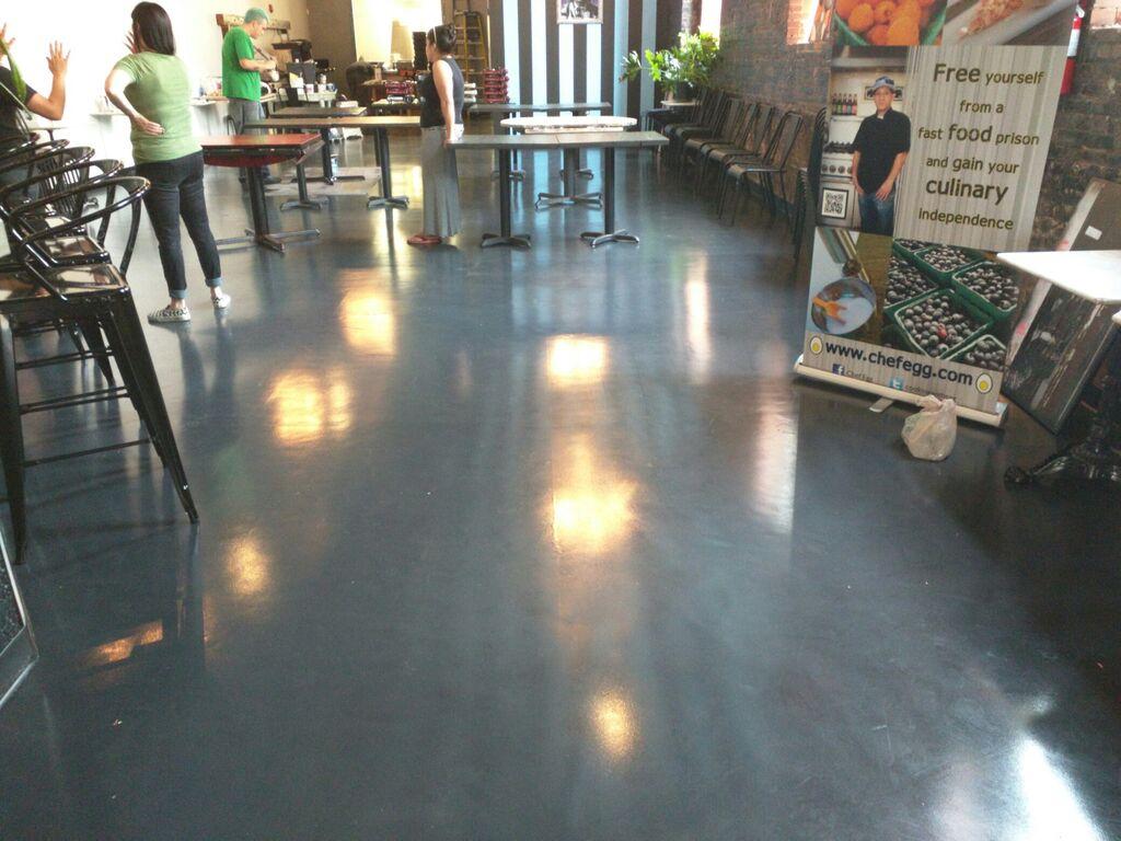 Remodeling Restaurants In Maryland - Epoxy floor coating for restaurants