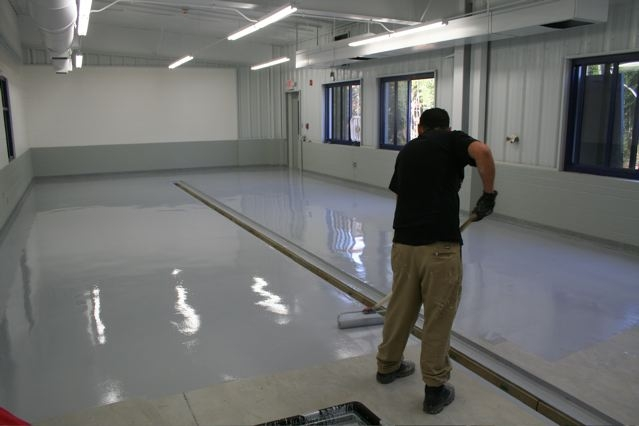 Epoxy floor coating leads