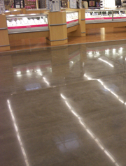 Concrete Floor Cleaners and Wax