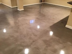 Polished Concrete Basement Floor Washington DC